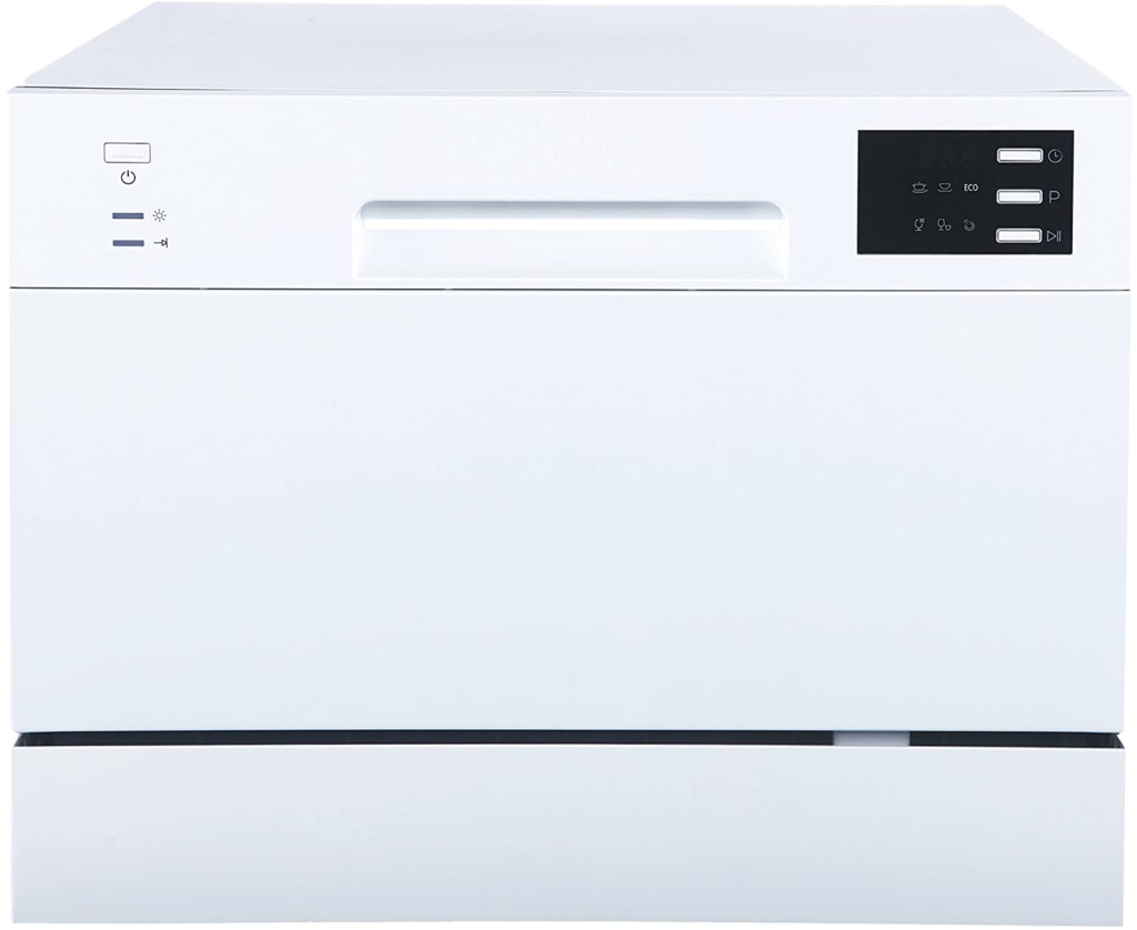 04-SPT SD-2225DW Compact Countertop Dishwasher