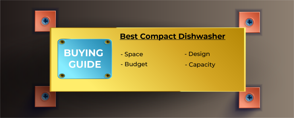 Infographic Buying Guide – Best Compact Dishwasher
