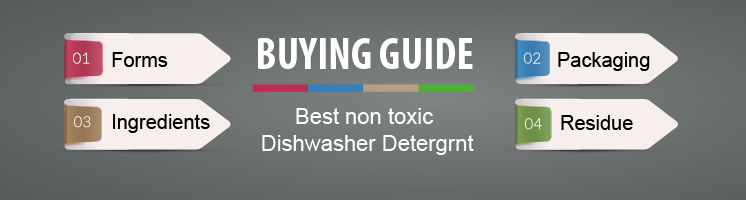 Buying Guide - Best non toxic Dishwasher Detergent