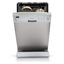 Furrion 18 Built-In RV Dishwasher with Double Rack (Stainless Steel) - FDW18SAS