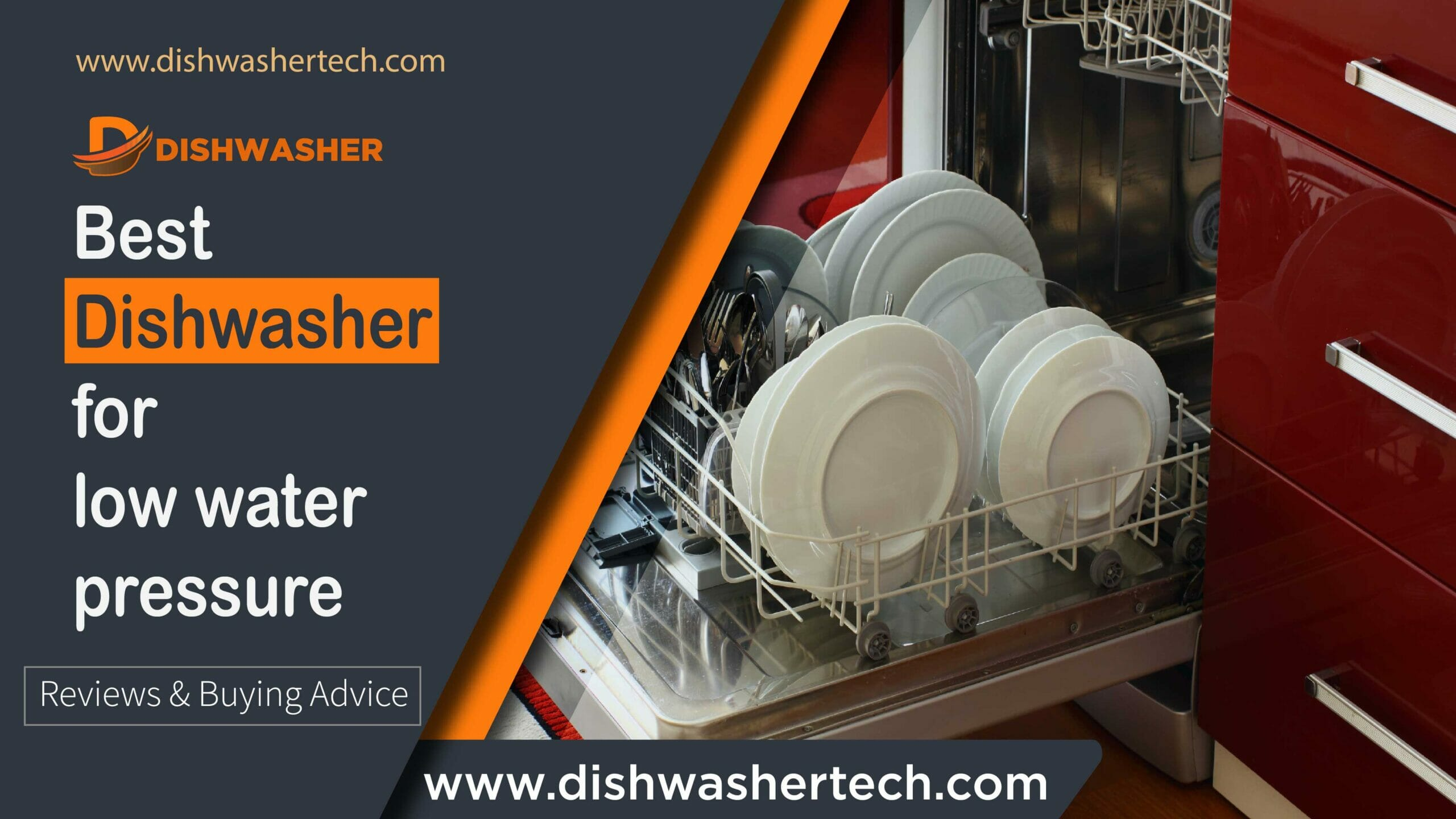 Best Dishwasher For Low Water Pressure
